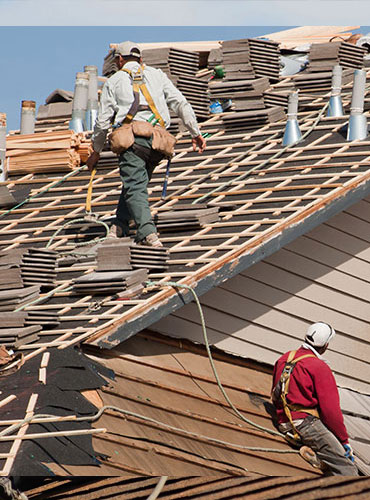 Tile Roofing Company in Dallas C.J. Hewitt Construction